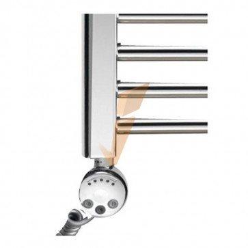 Termoarredo Mercurio cromato con termostato regolabile 500 x 1200 mm