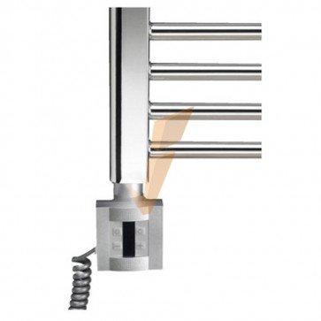 Termoarredo Mercurio cromato con termostato digitale 500 x 770 mm