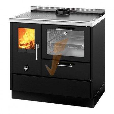 Cucina a Legna Kitchen Kamin KE 90 W 8 kW Prezzi - Idraulica.ch
