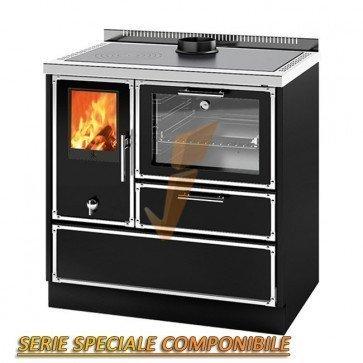 Cucina a Legna Kitchen Kamin KG 90 BW 7,6 kW Prezzi - Idraulica.ch