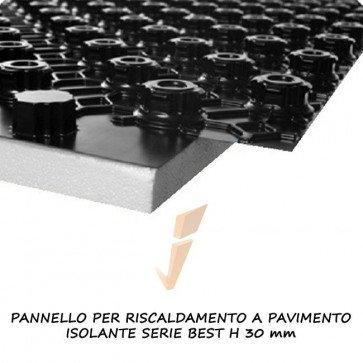 Pannello isolante serie best h 30 mm