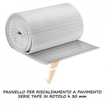 Pannello isolante serie Tape in rotolo H 30 mm