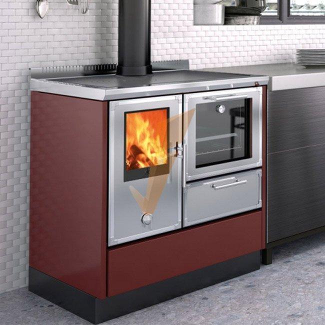 Cucina A Legna Kitchen Kamin Ke 80 W 7 1 Kw Prezzi