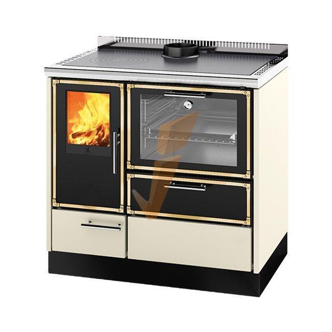 Termocucina a Legna Kitchen Kamin KE 90 H 20 kW Prezzi - Idraulica.ch