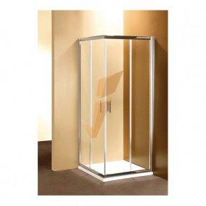 Box Doccia Serie Gold Quadrato con Due Porte Scorrevoli 80x80 cm