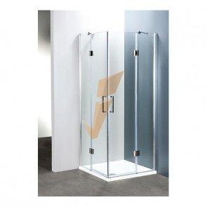 Box Doccia Serie Platinum Rettangolare con Due Porte a Battente 70x100 cm