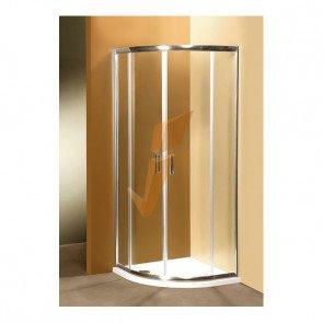 Box Doccia Semitondo Ponsi con Due Porte Scorrevoli Serie Gold 90x90 cm