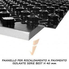 Pannello isolante serie best h 40 mm