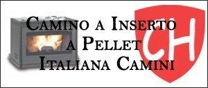 Camino a Inserto a Pellet Italiana Camini Prezzi e Offerte