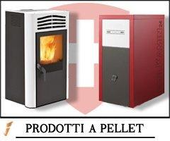 Prodotti a Pellet Canton Ticino - Idraulica.ch