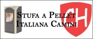 Stufa a Pellet Italiana Camini Prezzi e Offerte