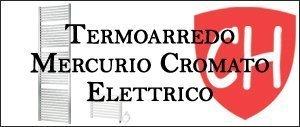 Termoarredo Mercurio Cromato Elettrico Prezzi e Offerte
