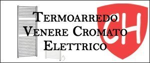 Termoarredo Venere Cromato Elettrico Prezzi e Offerte