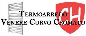 Termoarredo Venere Curvo Cromato Prezzi e Offerte