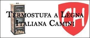 Termostufa a Legna Italiana Camini Prezzi e Offerte