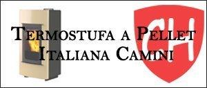 Termostufa a Pellet Italiana Camini Prezzi e Offerte