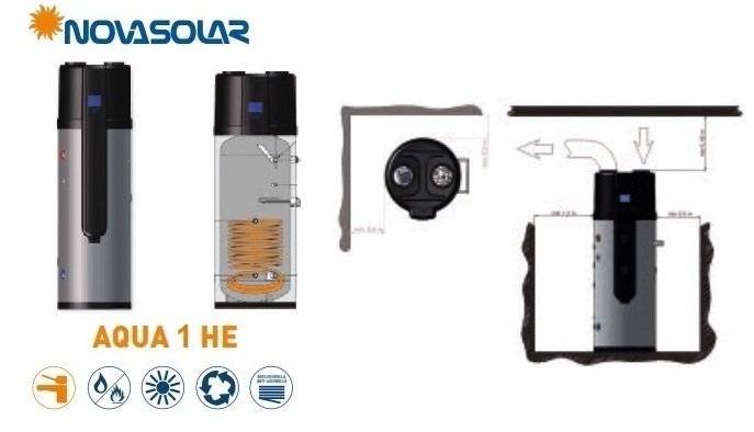 Pompa di Calore Novasolar Aqua 1 HE info