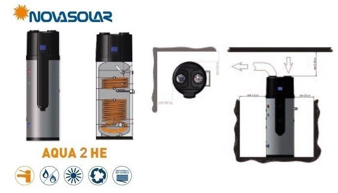 Pompa di Calore Novasolar Aqua 2 HE info