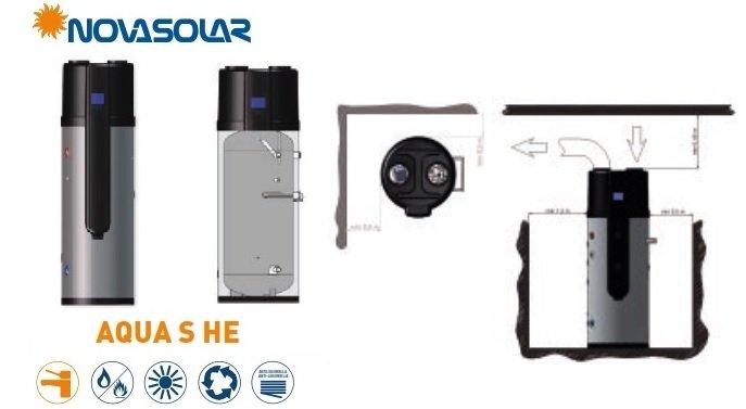 Pompa di Calore Novasolar Aqua S HE info