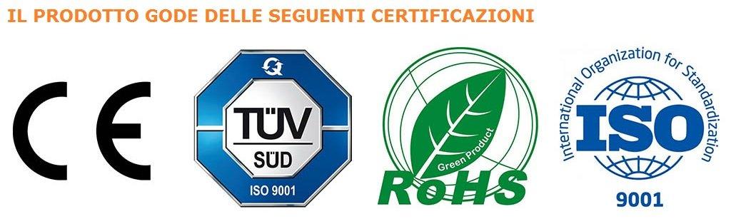 Certificazioni prodotto